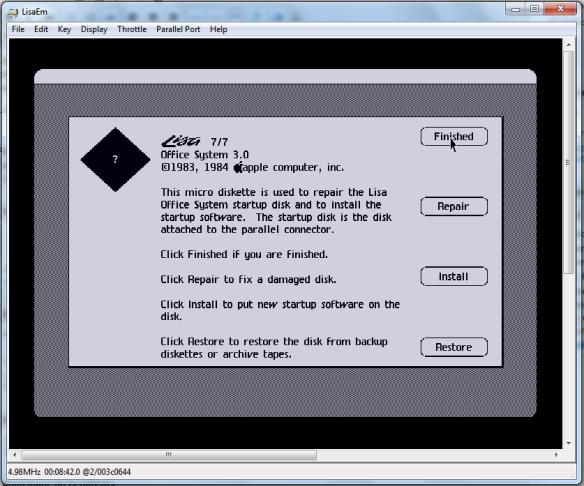 Haz click en Install para configurar los discos y comenzar la instalación.